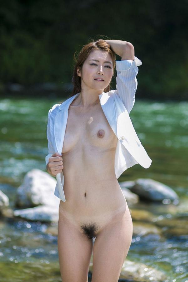 【美熟女エロ画像】北条麻妃さんと不倫旅行している気分になれるヌード画像あつめてみたよwww 10
