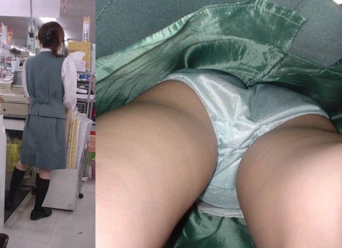 【盗撮エロ画像】働く素人女性のパンチラ画像wwwエロ過ぎて仕事に集中できね・・・。 09