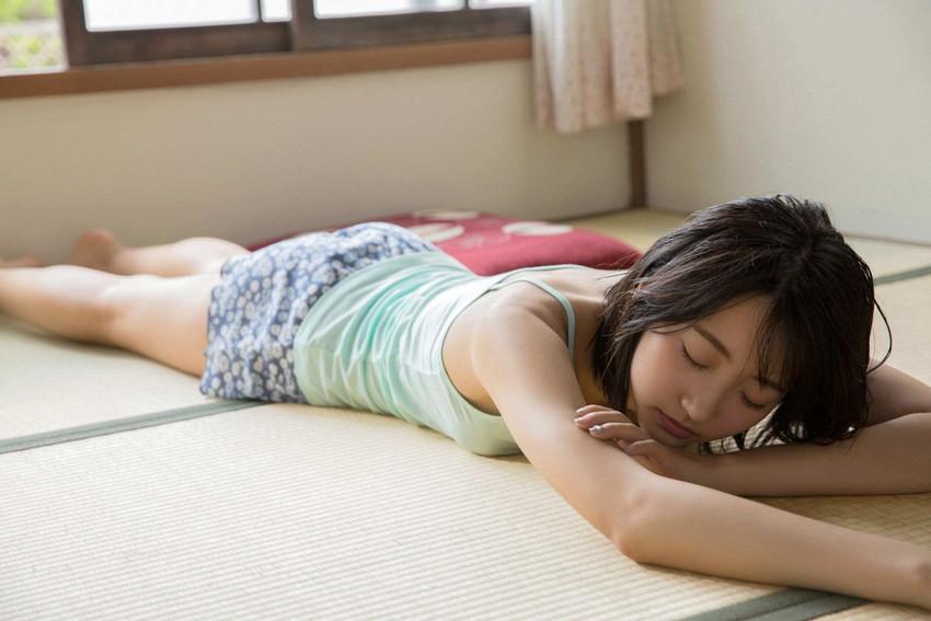 【武田玲奈エロ画像】黒髪美少女のちょっとセクシーな感じのグラビアwww 34