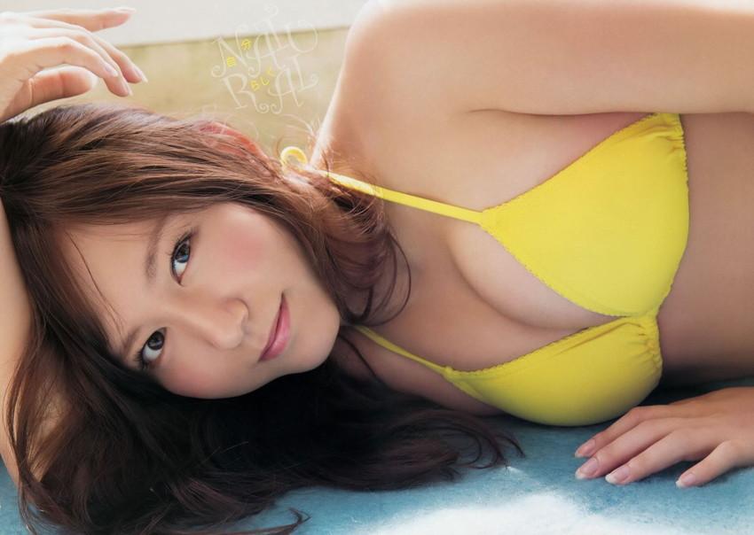 【大場美奈エロ画像】男関係で失敗の多い、SKEの巨乳娘www 47
