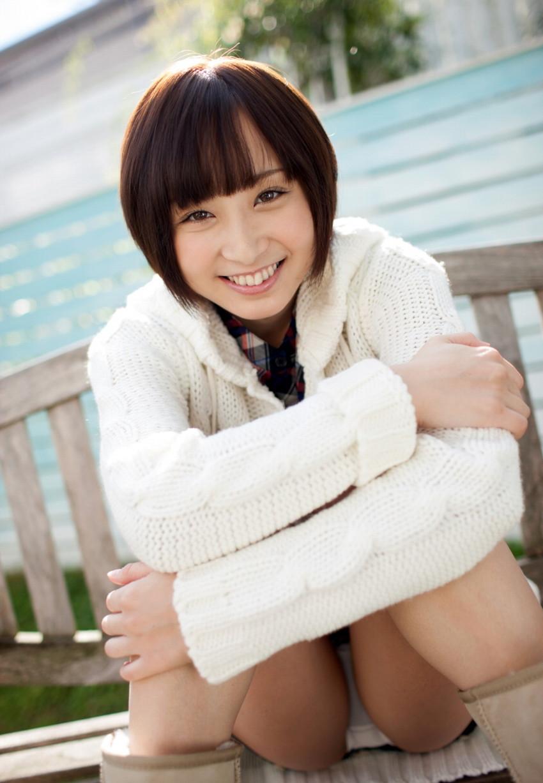 【きみの歩美エロ画像】アイドル並のルックスのショートカット美少女のエロボディwww 46