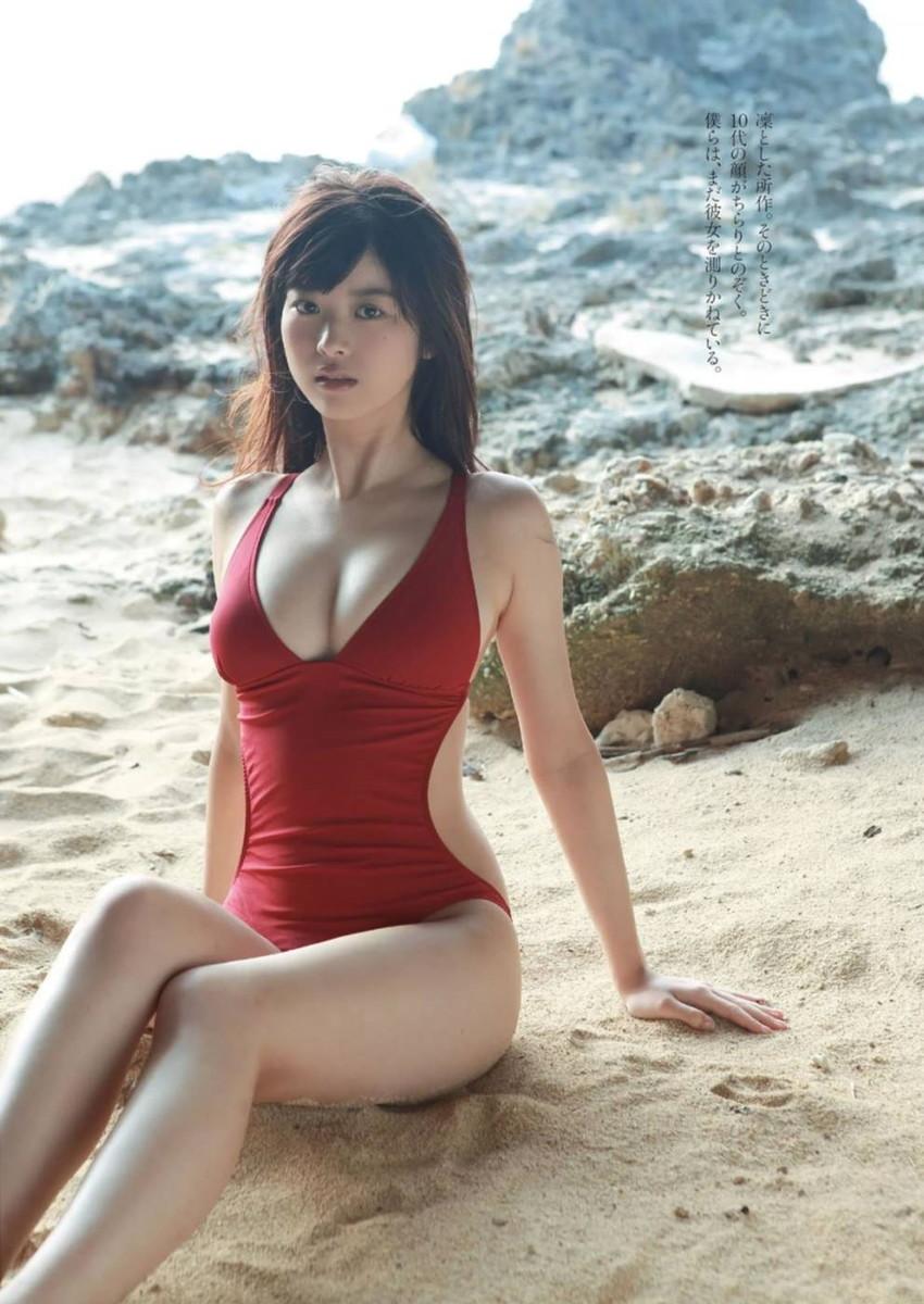 【馬場ふみかエロ画像】仮面ライダードライブで話題の女優が無駄に良い身体しているwww 45