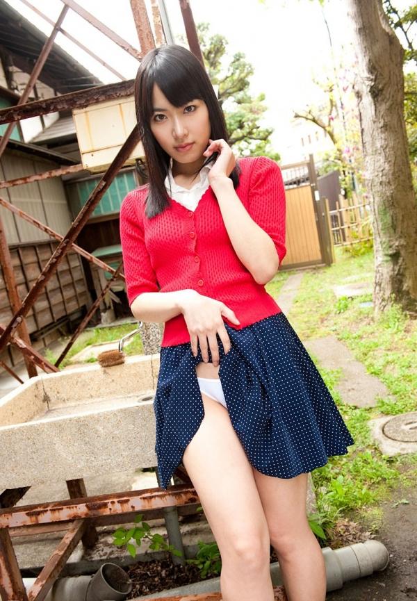 【由愛可奈エロ画像】AV女優になるのが夢だった元グラビアアイドルの身体www 04