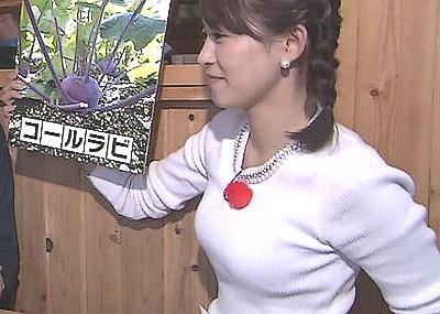 大家彩香~札幌テレビの美人女子アナ、パイスラと白パンでの食い込みは○起度MAX!