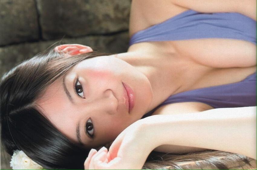 【上西恵エロ画像】優等生キャラでしかも清楚なのに、このスケベ過ぎる身体はなんだ・・・(※勃起注意) 42