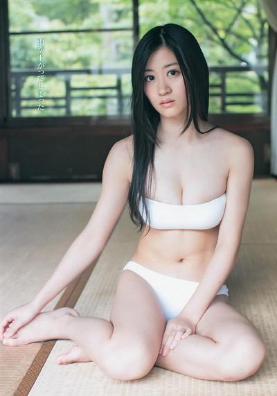【上西恵エロ画像】優等生キャラでしかも清楚なのに、このスケベ過ぎる身体はなんだ・・・(※勃起注意) 06