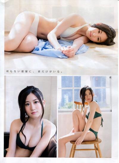 【上西恵エロ画像】優等生キャラでしかも清楚なのに、このスケベ過ぎる身体はなんだ・・・(※勃起注意) 44