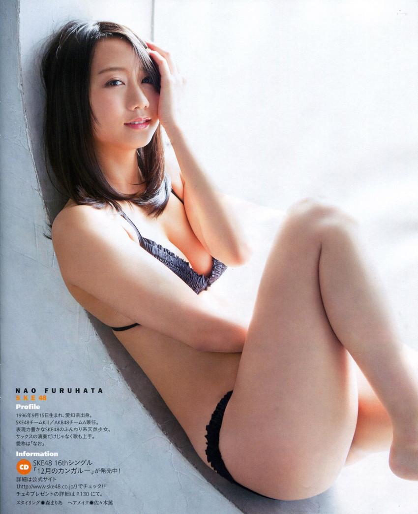 【古畑奈和エロ画像】清楚で透明感溢れるSKEの古株メンバーが、無駄にエッチな身体をしていたwww 39