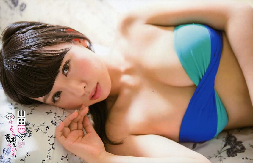 【山田菜々エロ画像】NMBのお笑い担当が、とてつもなくエッチな身体をしているんだが・・・(※勃起注意) 38