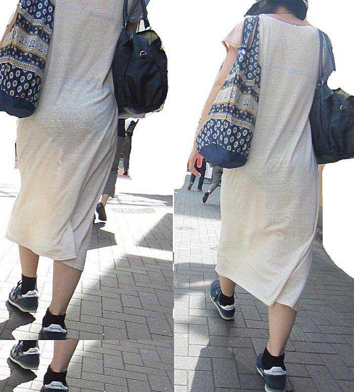 【透けパンツエロ画像】透けパン最高!スカートやズボンから透けるパンティー。オカズとしてお世話になっていますが、この透け具合女性陣は意識してんすか? 18