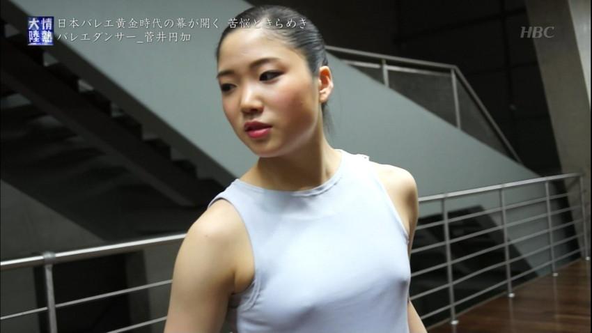 【レオタードエロ画像】バレエと体操のレオタードってなんでこんなにエロいの?乳首勃起やマン型くっきりのスポーツエロ画像50枚 05