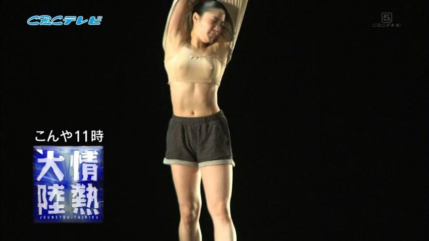 【レオタードエロ画像】バレエと体操のレオタードってなんでこんなにエロいの?乳首勃起やマン型くっきりのスポーツエロ画像50枚 06