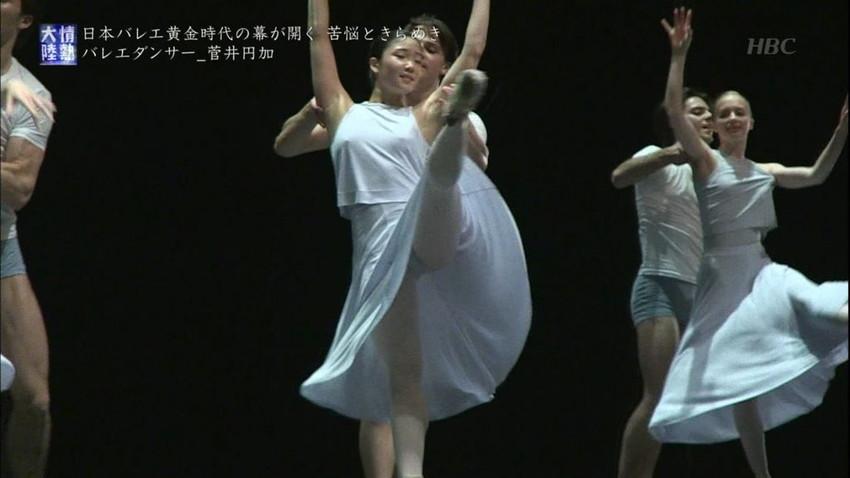 【レオタードエロ画像】バレエと体操のレオタードってなんでこんなにエロいの?乳首勃起やマン型くっきりのスポーツエロ画像50枚 07