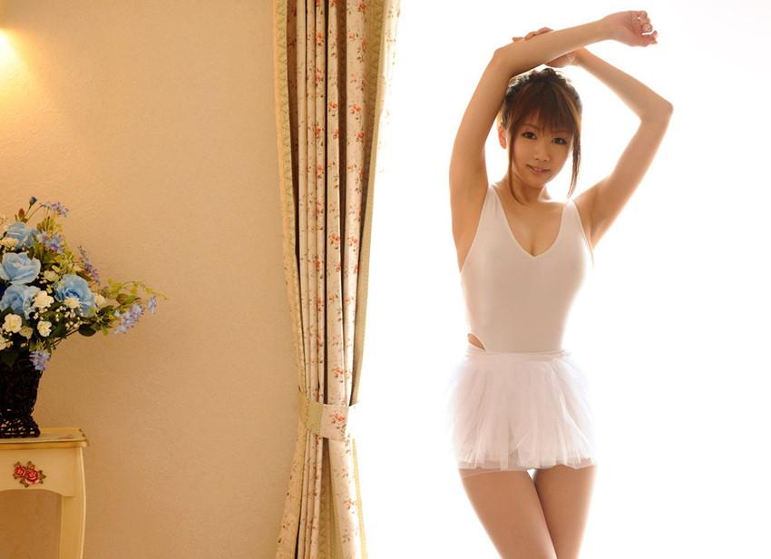 【レオタードエロ画像】バレエと体操のレオタードってなんでこんなにエロいの?乳首勃起やマン型くっきりのスポーツエロ画像50枚 22
