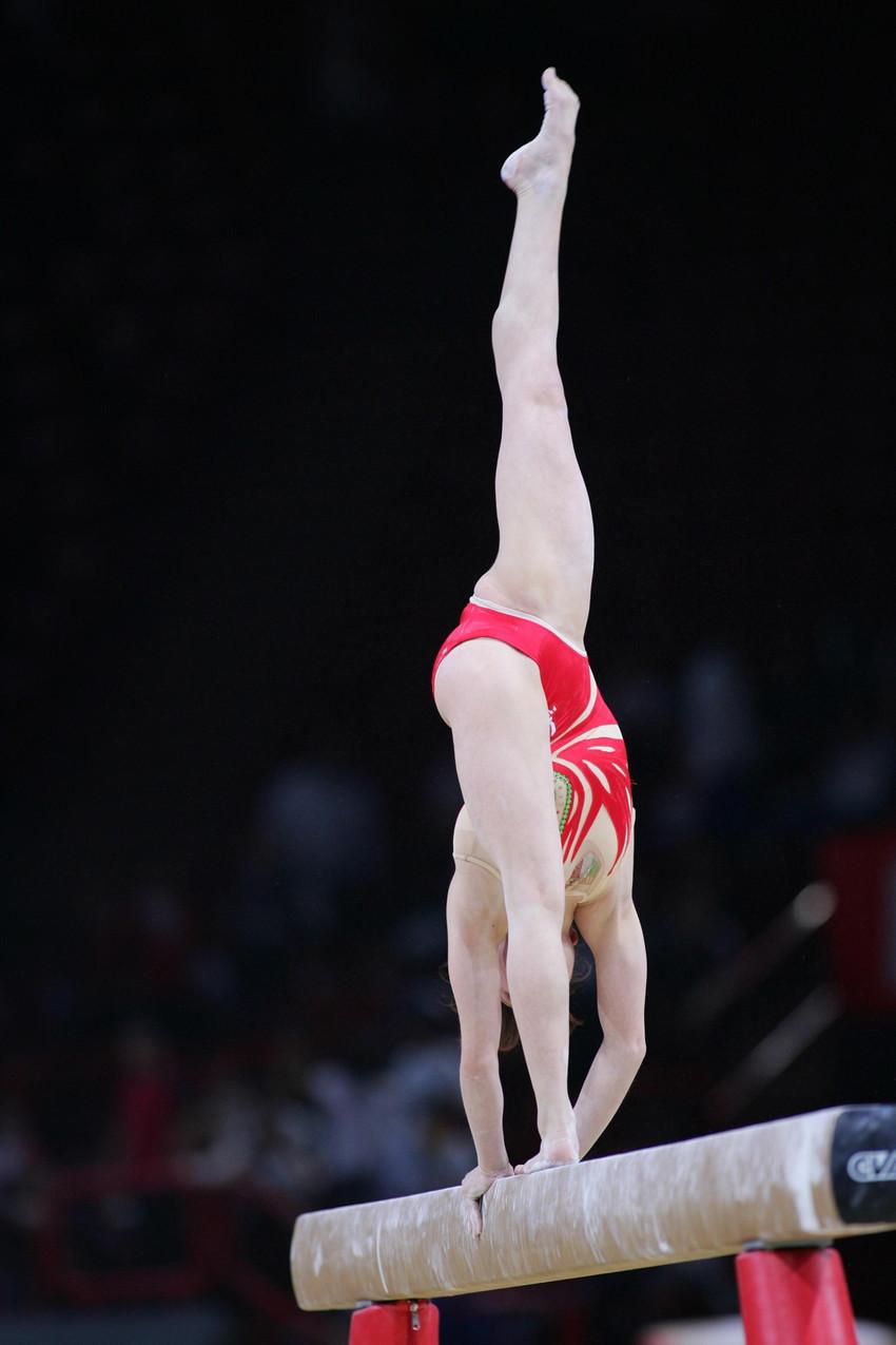 【レオタードエロ画像】バレエと体操のレオタードってなんでこんなにエロいの?乳首勃起やマン型くっきりのスポーツエロ画像50枚 34