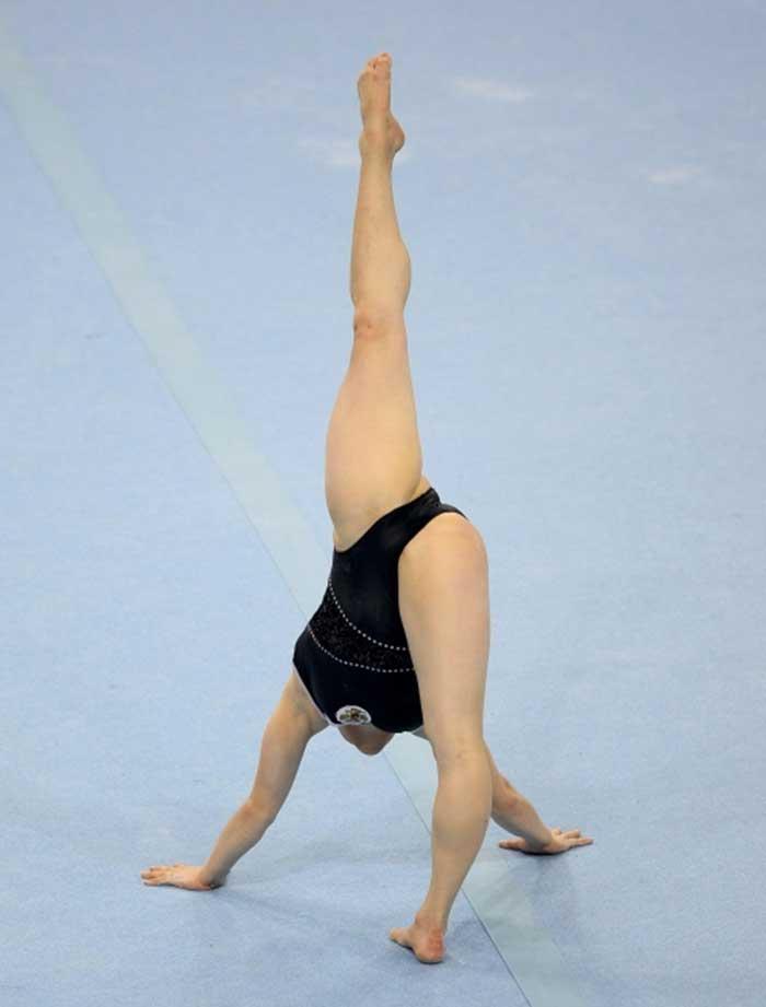 【レオタードエロ画像】バレエと体操のレオタードってなんでこんなにエロいの?乳首勃起やマン型くっきりのスポーツエロ画像50枚 48