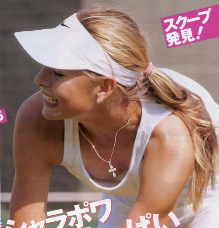 【シャラポアエロ画像】恐らく世界中で最もオカズにされたアスリートwwフェロモン前回テニスプレーヤー「マリア・シャラポア」の乳首ポチ・スジ画像集。 32