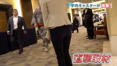 【女子アナエロ画像】女子アナの普段見せない尻!ピタパン、タイトスカートだからパンティーライン丸見えのお宝画像で抜く素晴らしさww 12