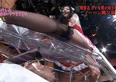 【画像】壇蜜さん、ガダルカナルにマ○コを見られる。(キャプ40枚)