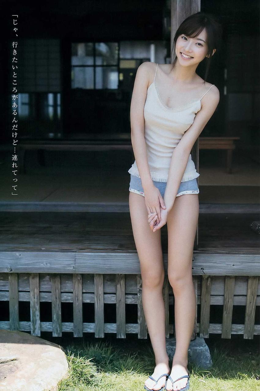 【武田玲奈エロ画像】カワイイが数値化できたら今一番ハイスコアであろう武田玲奈の、ポッキーのCMでは見られない水着グラビア画像集 17