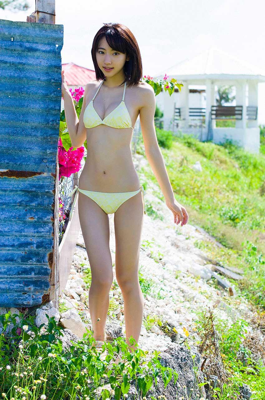 【武田玲奈エロ画像】カワイイが数値化できたら今一番ハイスコアであろう武田玲奈の、ポッキーのCMでは見られない水着グラビア画像集 35