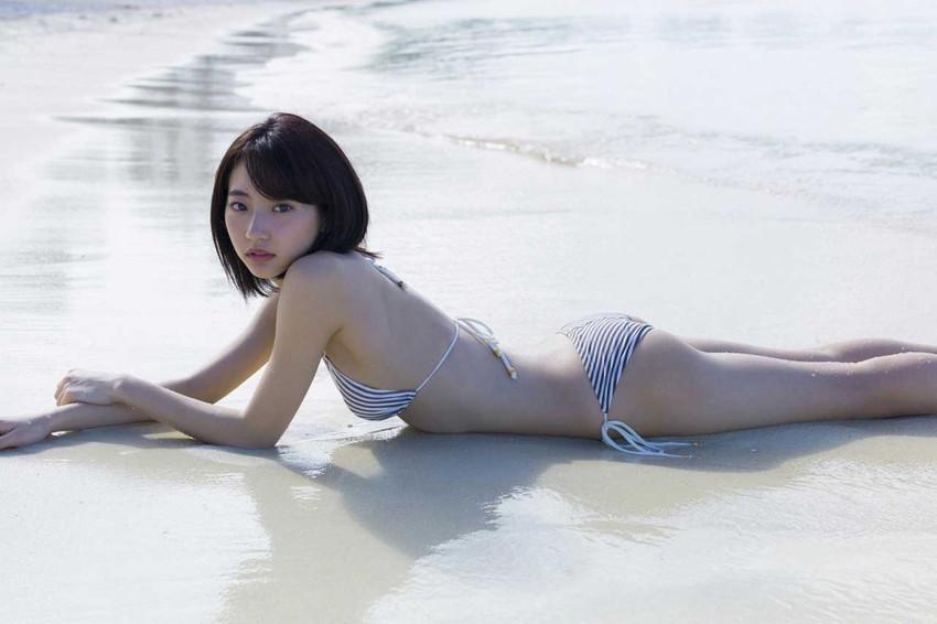 【武田玲奈エロ画像】カワイイが数値化できたら今一番ハイスコアであろう武田玲奈の、ポッキーのCMでは見られない水着グラビア画像集 50