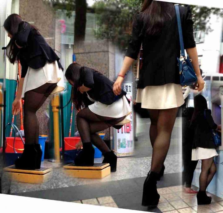 【ハプニングエロ画像】街中で出会えるウソみたいなエロハプニング画像集!引きこもりの子に見せれば効果あるのではww 37